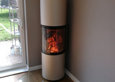 Spartherm Passo M Woodburner with heat storage