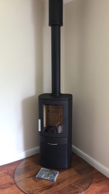 ACR Neo 1C with Glass Hearth