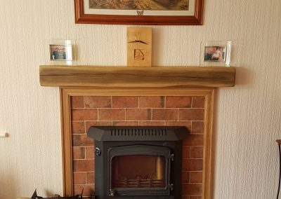 Woodwarm Fireview 6.5kw Inset FT