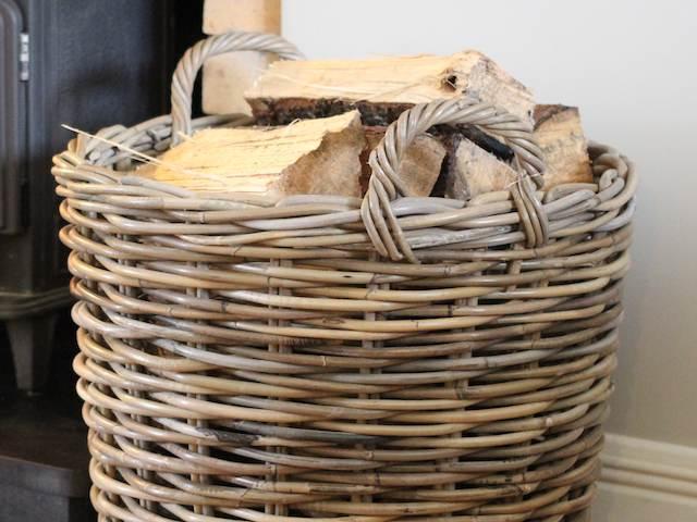 log baskets the hot spot. Black Bedroom Furniture Sets. Home Design Ideas