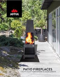 Jotul Patio Fireplaces