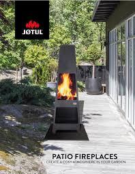 Jotul Patio Fireplaces