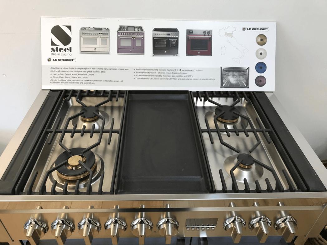 NEW Genesi 100 COMBI-STEAM Dual Fuel RangeCooker 4